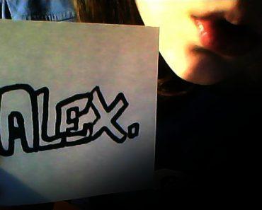 Сигна с именем Алекс